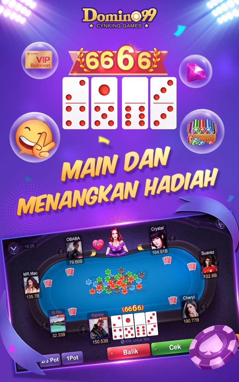 Game Domino 99 Online Dari KanMai Studio, Recommended Untuk Dicoba!