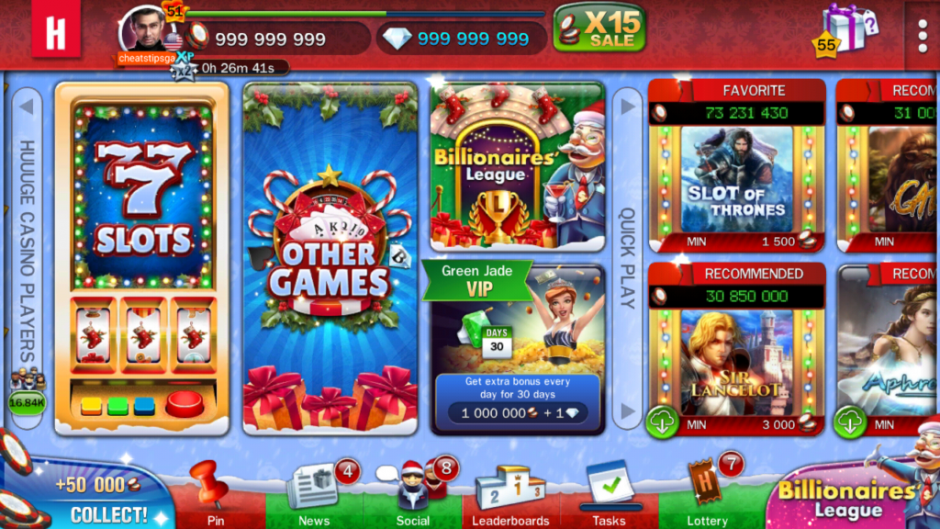 Review of the Stars Slots Casino Game, one of Android Slot Games Produced by Huuuge Games
